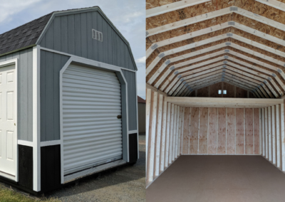 Portable Lofted Garage Wisconsin Shed builder Company