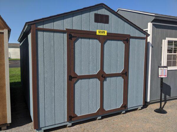 10x14 Portable Utility Gable Storage Building For Sale